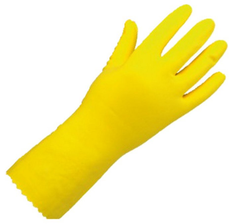 A yellow rubber gloves handjob for the pool boy 4