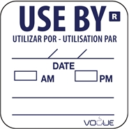 Use By Label