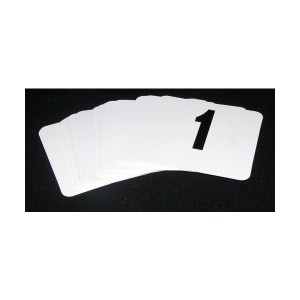 Set Of Numbers 1-12 (95 x 100mm)