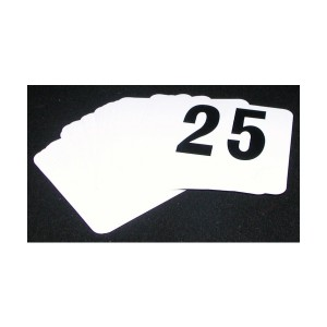 Set Of Numbers 1-25 (95 x 100mm)