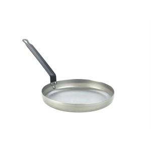 "Genware Black Iron Omelette Pan 10""/254mm"