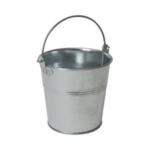Galvanised Steel Serving Bucket 10cm