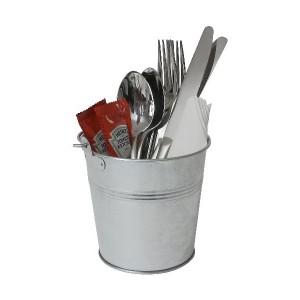 Galvanised Steel Serving Bucket 12cm