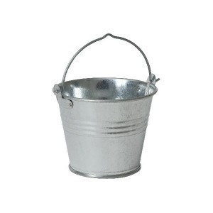 Galvanised Steel Serving Bucket 7cm 4oz