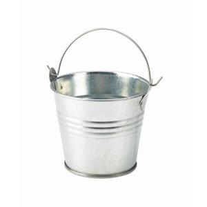 Galvanised Steel Serving Bucket 8.5cm