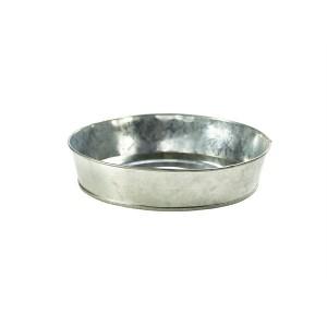 Galvanised Steel Serving Platter 22 cm