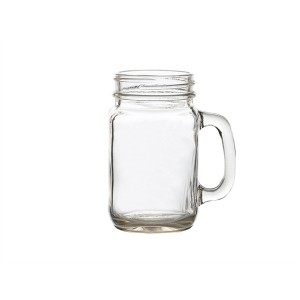 Genware Glass Mason Jar 50Cl/17.5oz