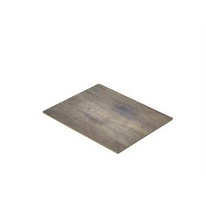 Wood Effect Melamine Platter GN 1/2