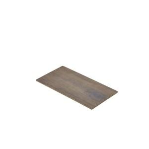 Wood Effect Melamine Platter GN 1/3
