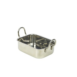 Mini Stainless Steel Roaster 13 x 10 x 4.3cm
