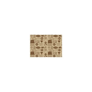 Greaseproof Paper Steak House Design 25 x 35cm (1000 sheets)