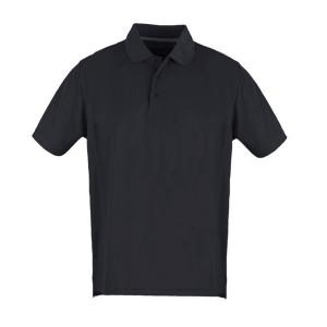 Polo Shirt Black- Large