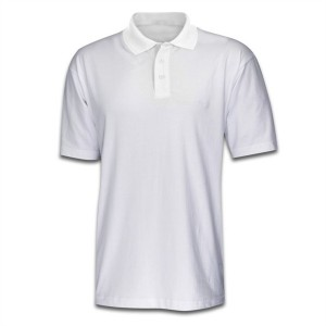 Polo Shirt White- Medium