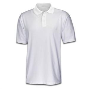 Polo Shirt White- Small