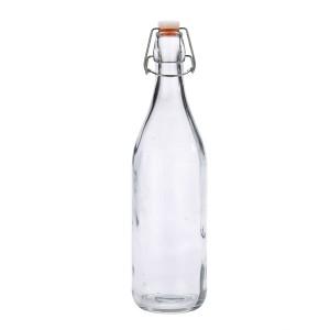 Genware Glass Swing Bottle 1L/35oz