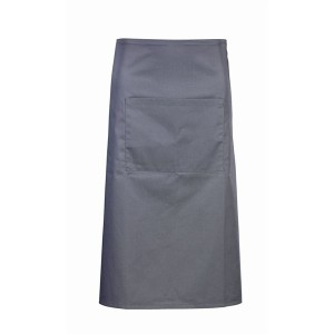 Waist Apron With Pocket- Grey