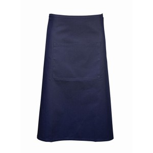 Waist Apron With Pocket- Navy